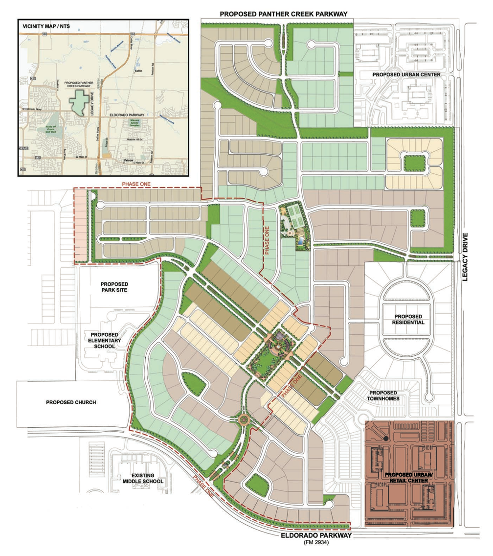 Map of Newman Village Urban Retail Center