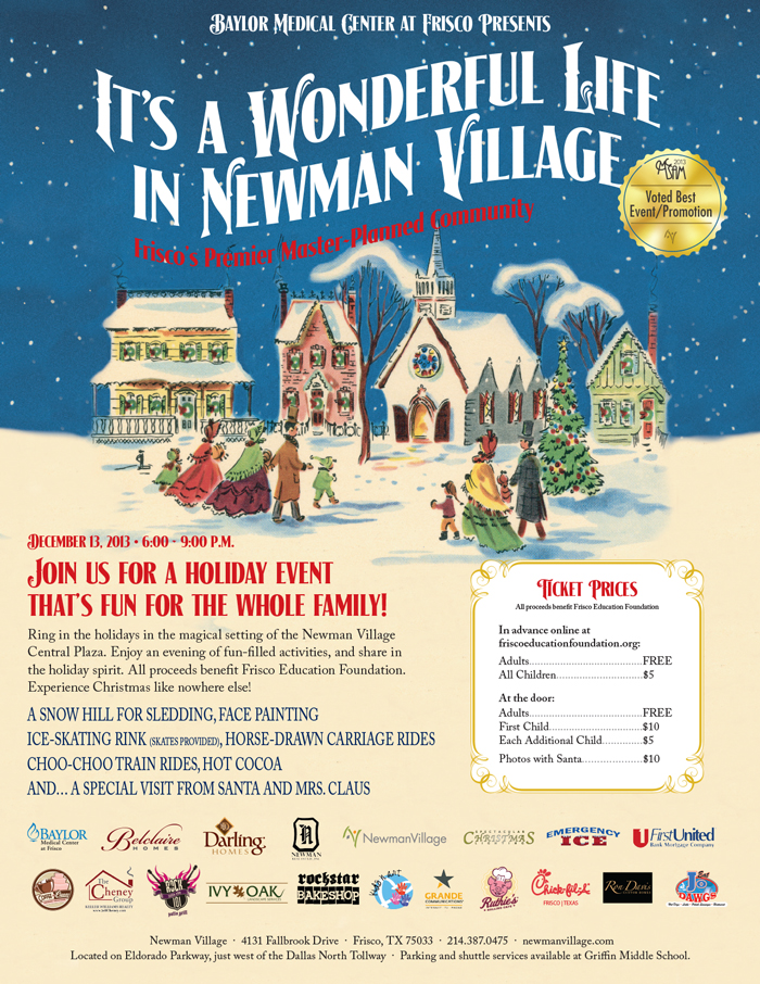 It 39 S A Wonderful Life In Newman Village Newman Real Estate Inc