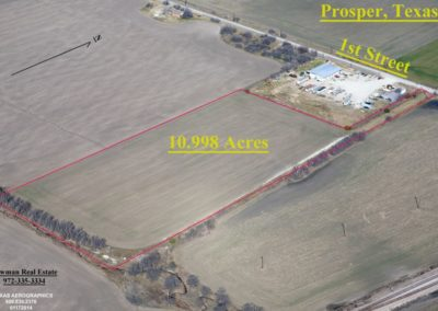 Newman Real Estate 10 Acres Prosper, TX