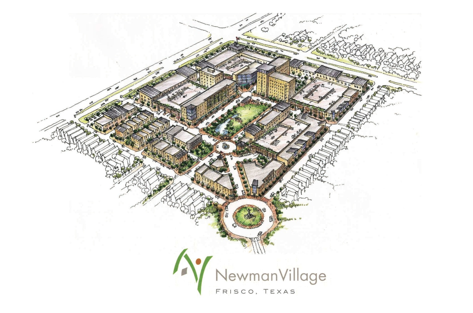 Newman Village Urban Retail Center